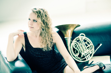 Kaci Cummings French Horn Player